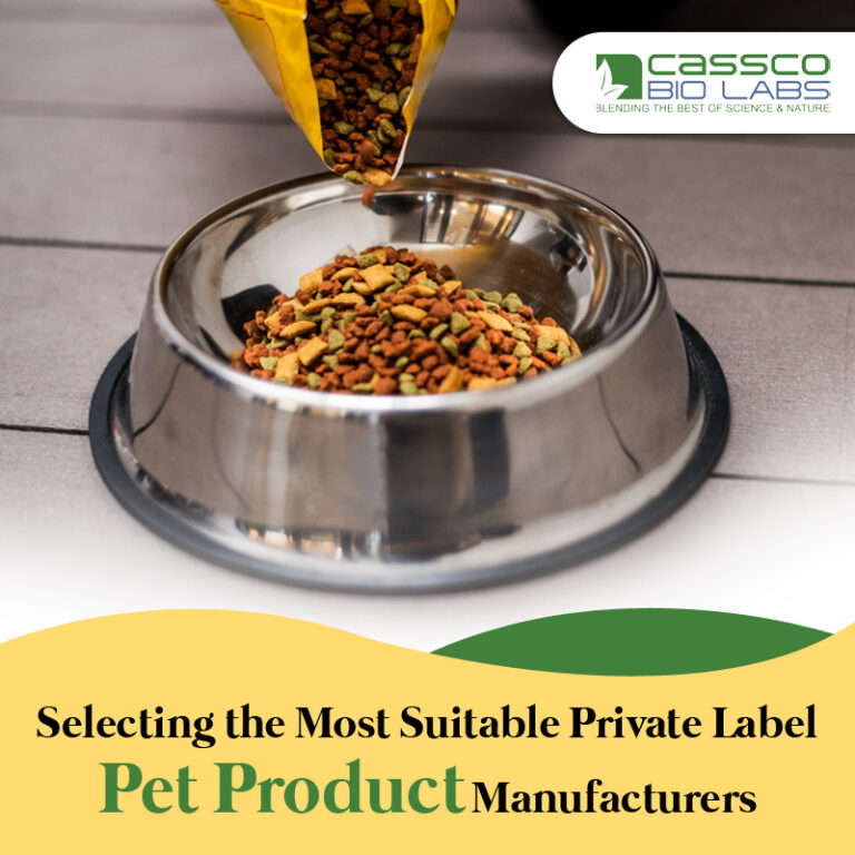 Selecting the Most Suitable Private Label Pet Product Manufacturers