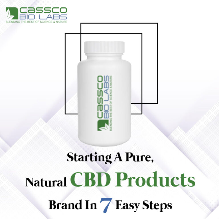 Starting A Pure, Natural CBD Products Brand In 7 Easy Steps