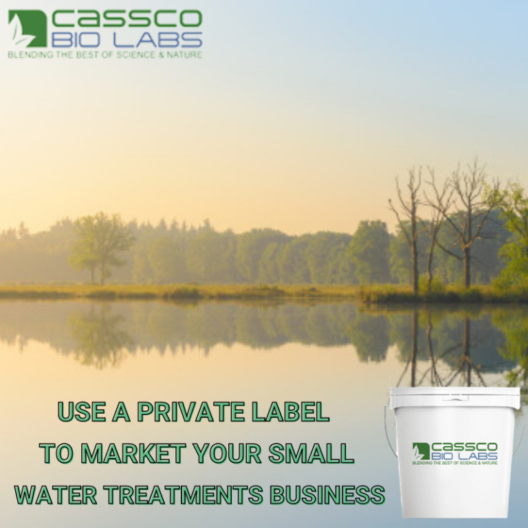 Use A Private Label to Market Your Small Water Treatments Business