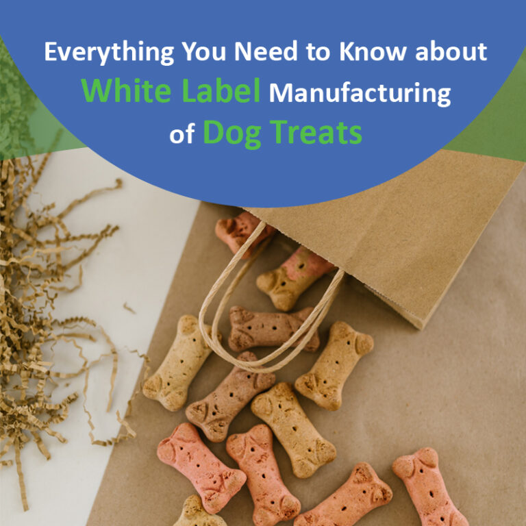 Everything You Need to Know about White Label Manufacturing of Dog Treats